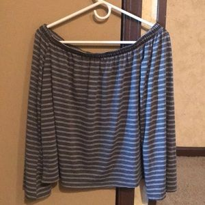 Tops - Off shoulder shirt . One size fits most